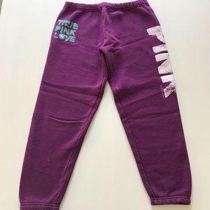 Victoria Secret Pink Jogger Sweatpants - Size XS